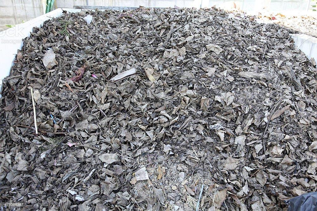 Organic Fertilizer, compost stock photo
