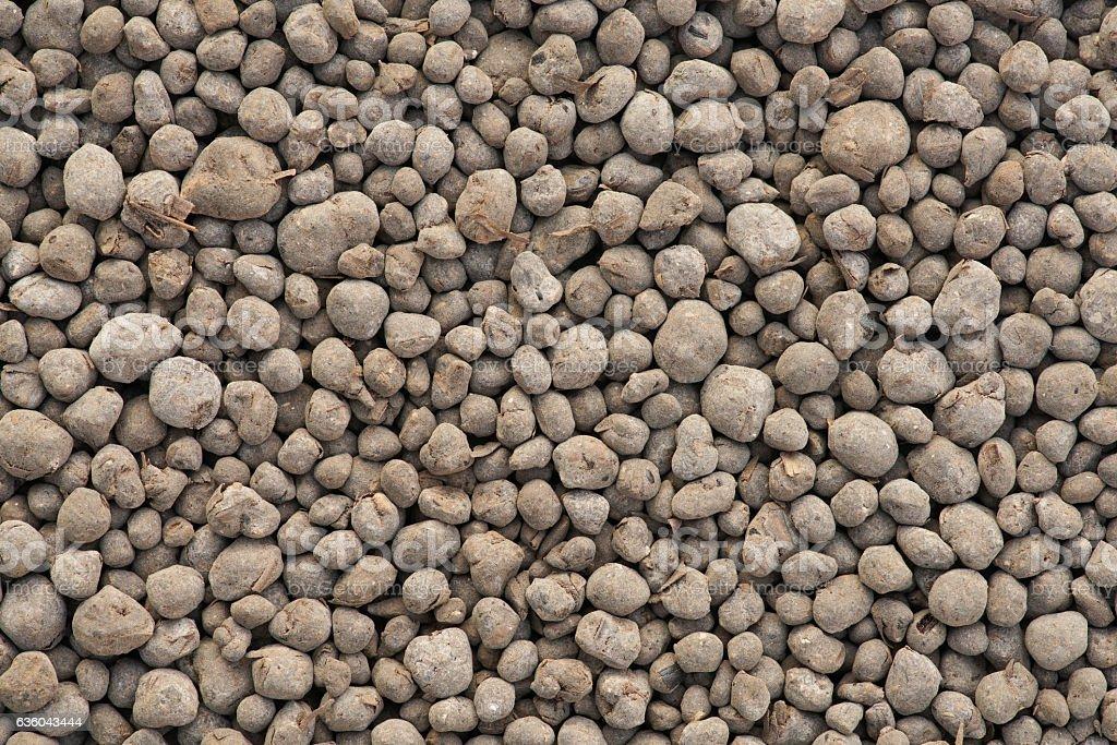 Organic fertilizers stock photo
