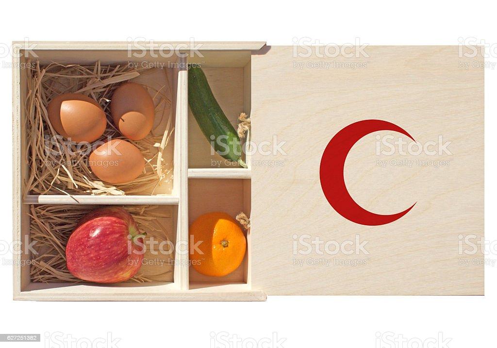 Organic First Aid Kit stock photo