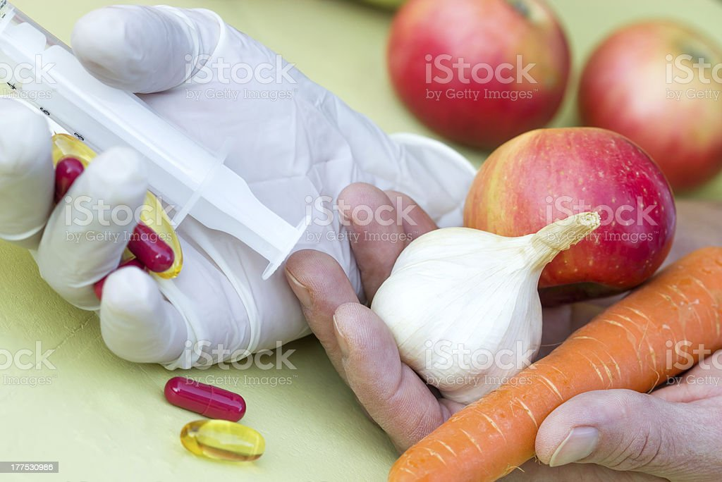 Organic food - healthy eating royalty-free stock photo
