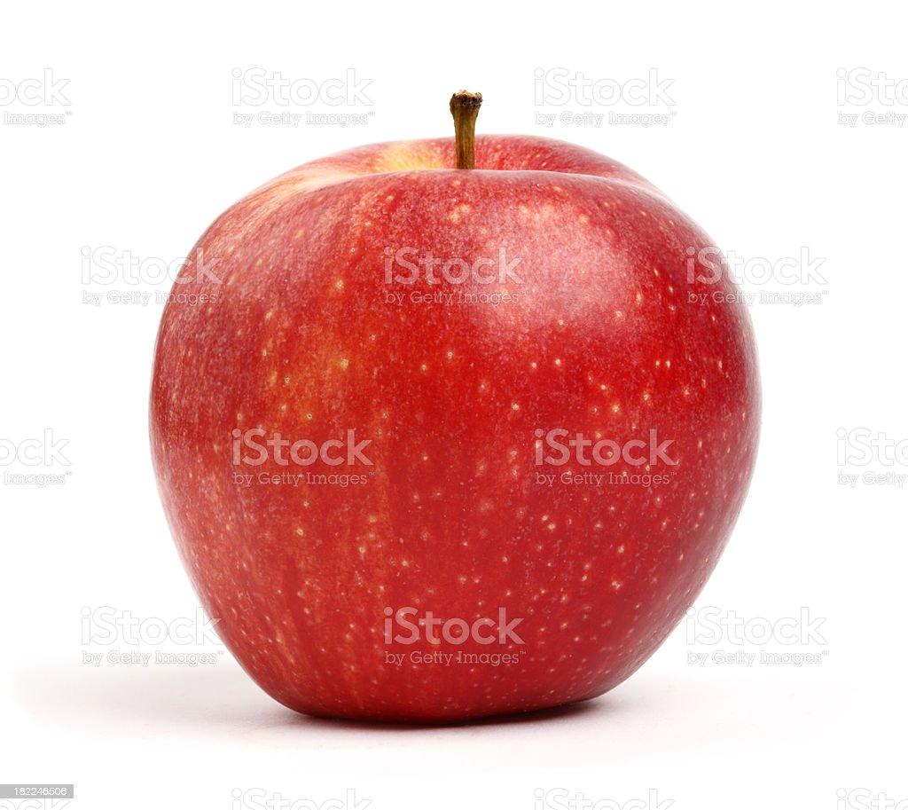 Organic Fuji Apple royalty-free stock photo