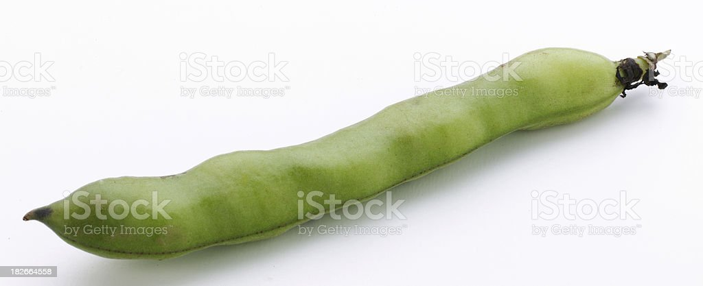 Organic Green bean royalty-free stock photo