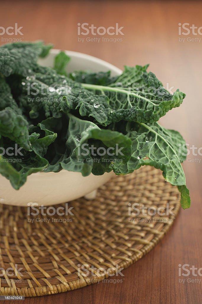 Organic Kale royalty-free stock photo
