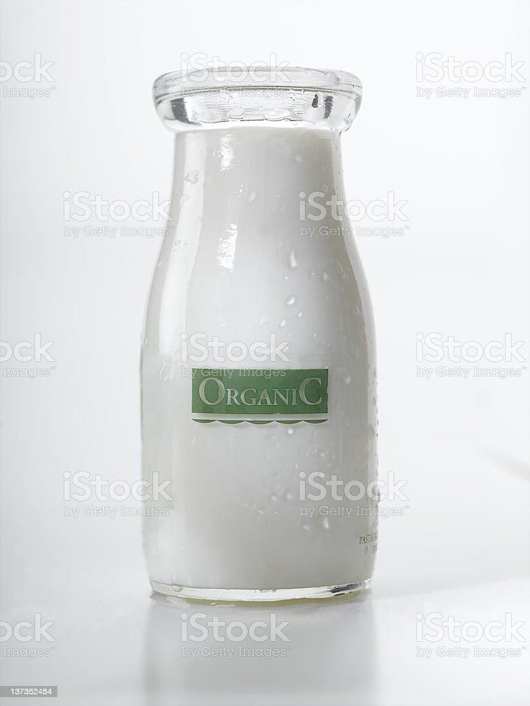 Organic Milk stock photo