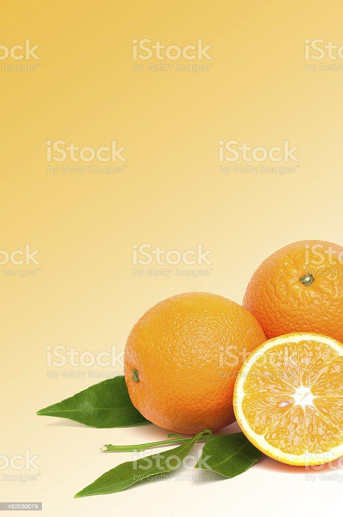 orange bio photo libre de droits