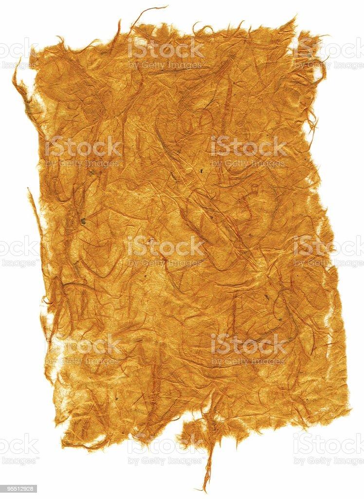 Organic Paper royalty-free stock photo