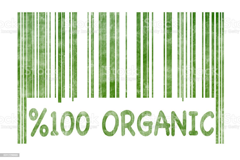 100 % Organic (Click for more) stock photo