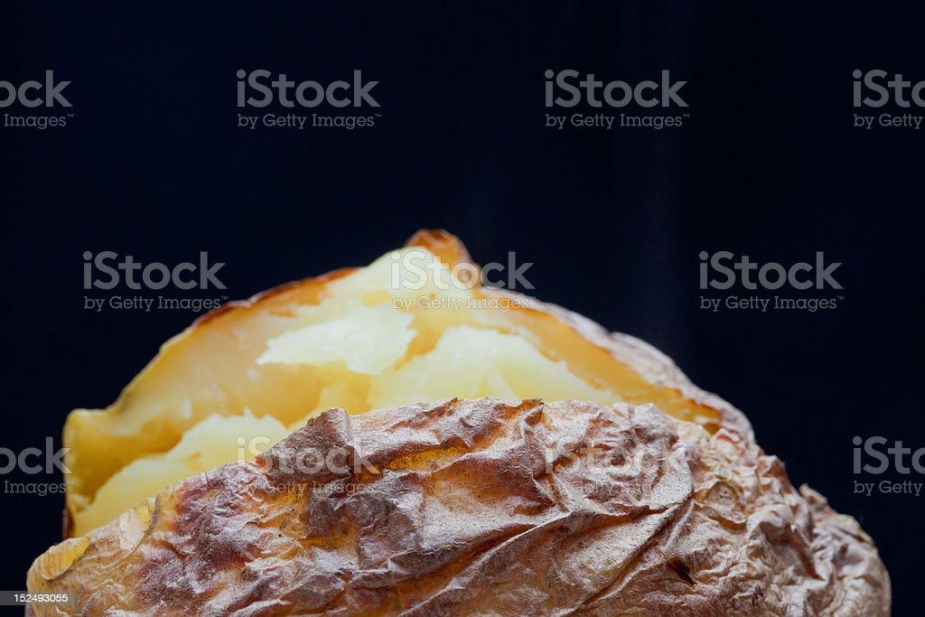 organic potato stock photo