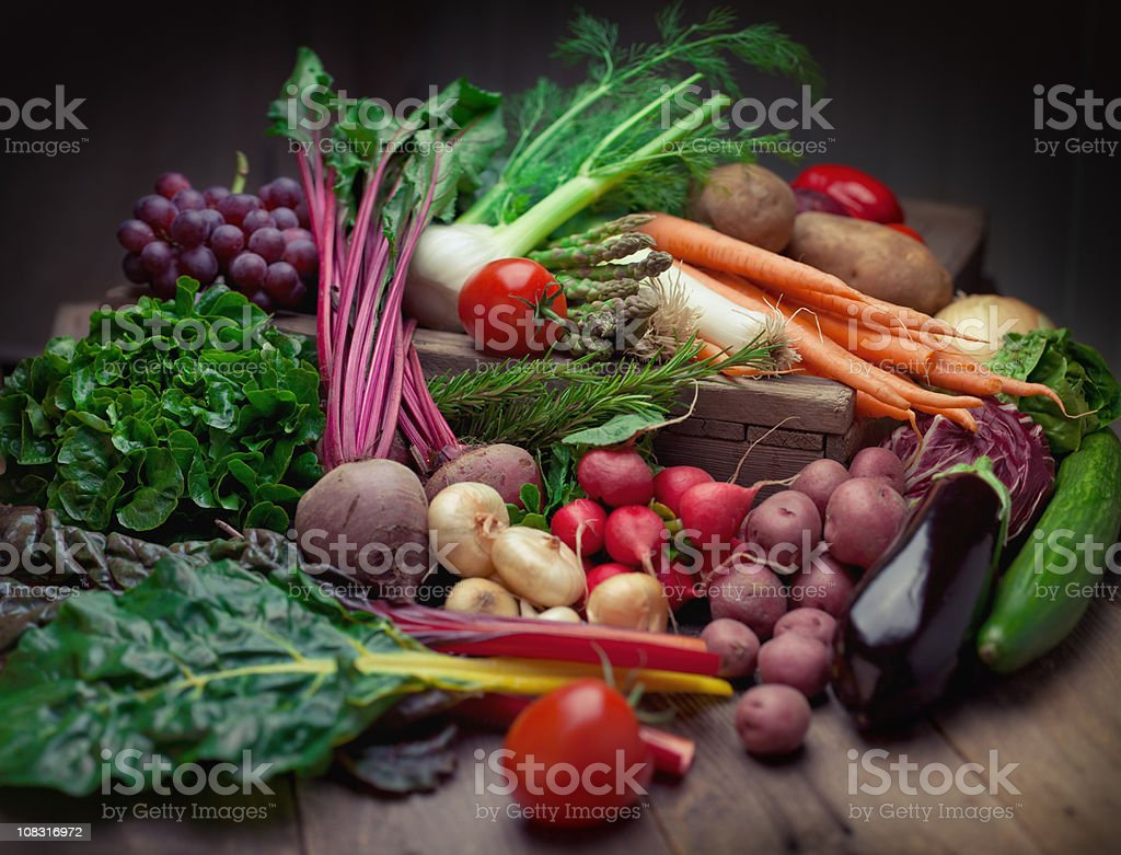 Organic Produce royalty-free stock photo