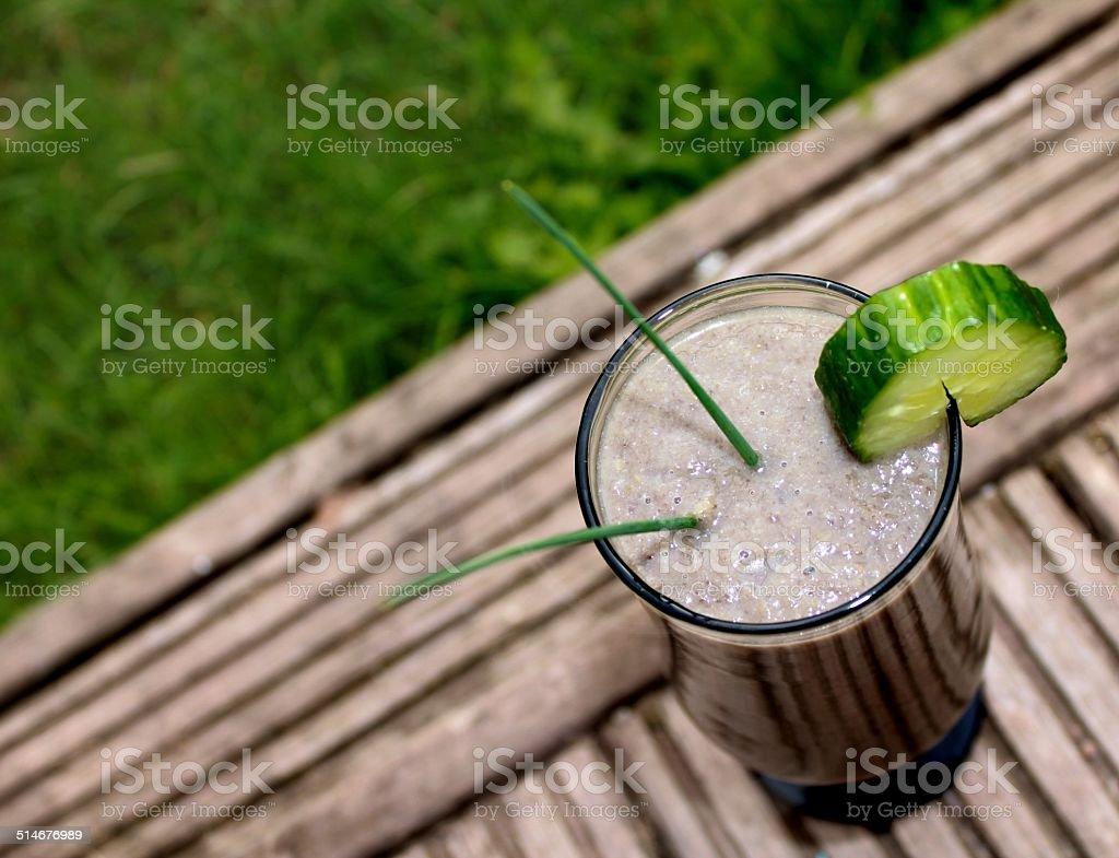 Organic Protein shake stock photo