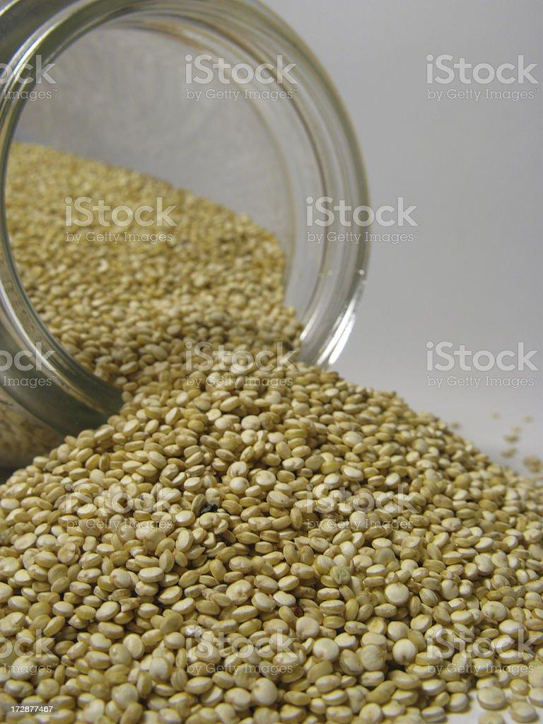 Organic Quinoa [KEEN-wah] royalty-free stock photo