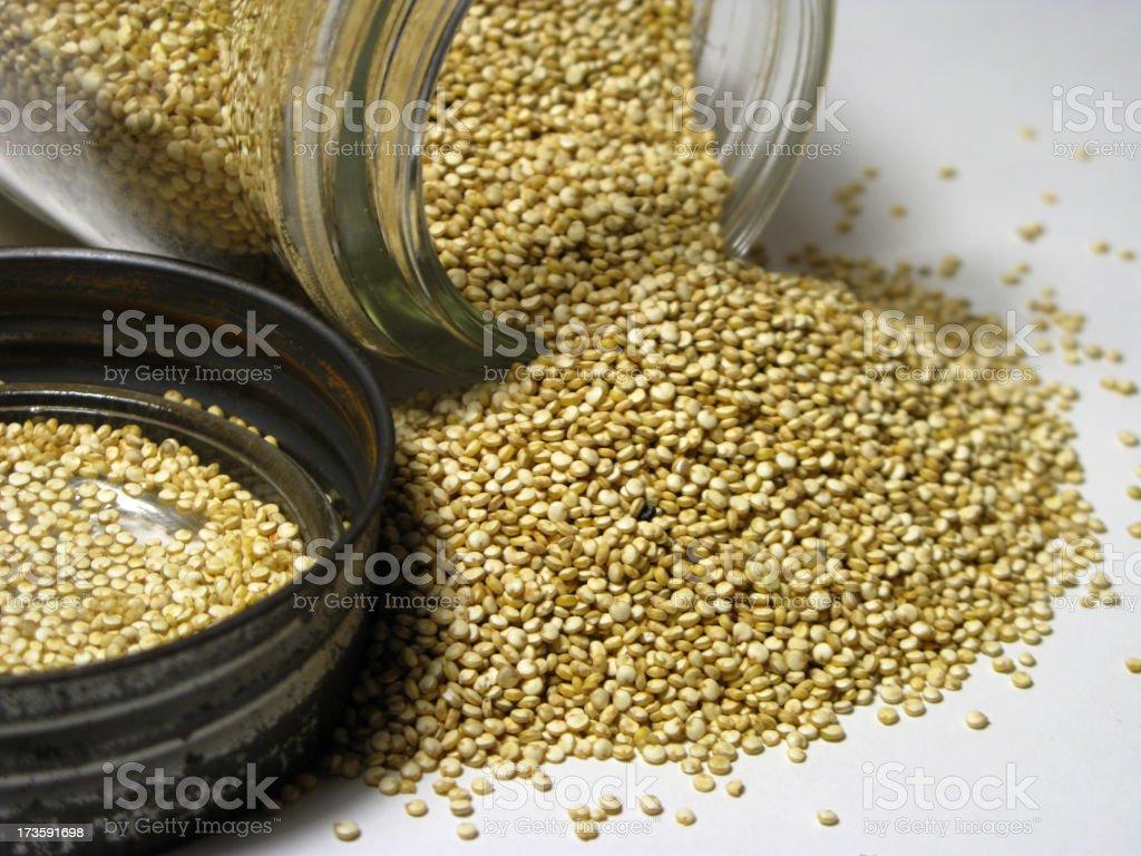 Organic Quinoa royalty-free stock photo