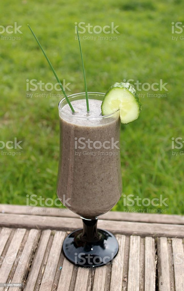 Organic Smoothie stock photo