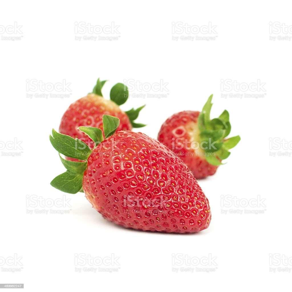 strawberriy bio photo libre de droits