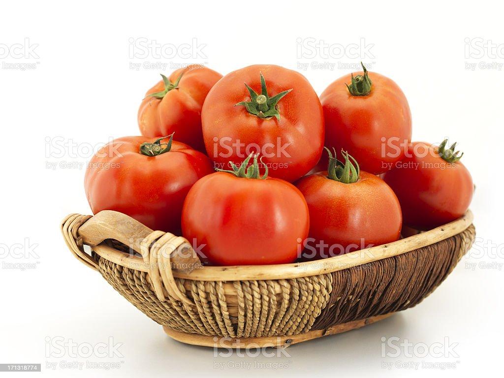 Organic Tomato stock photo