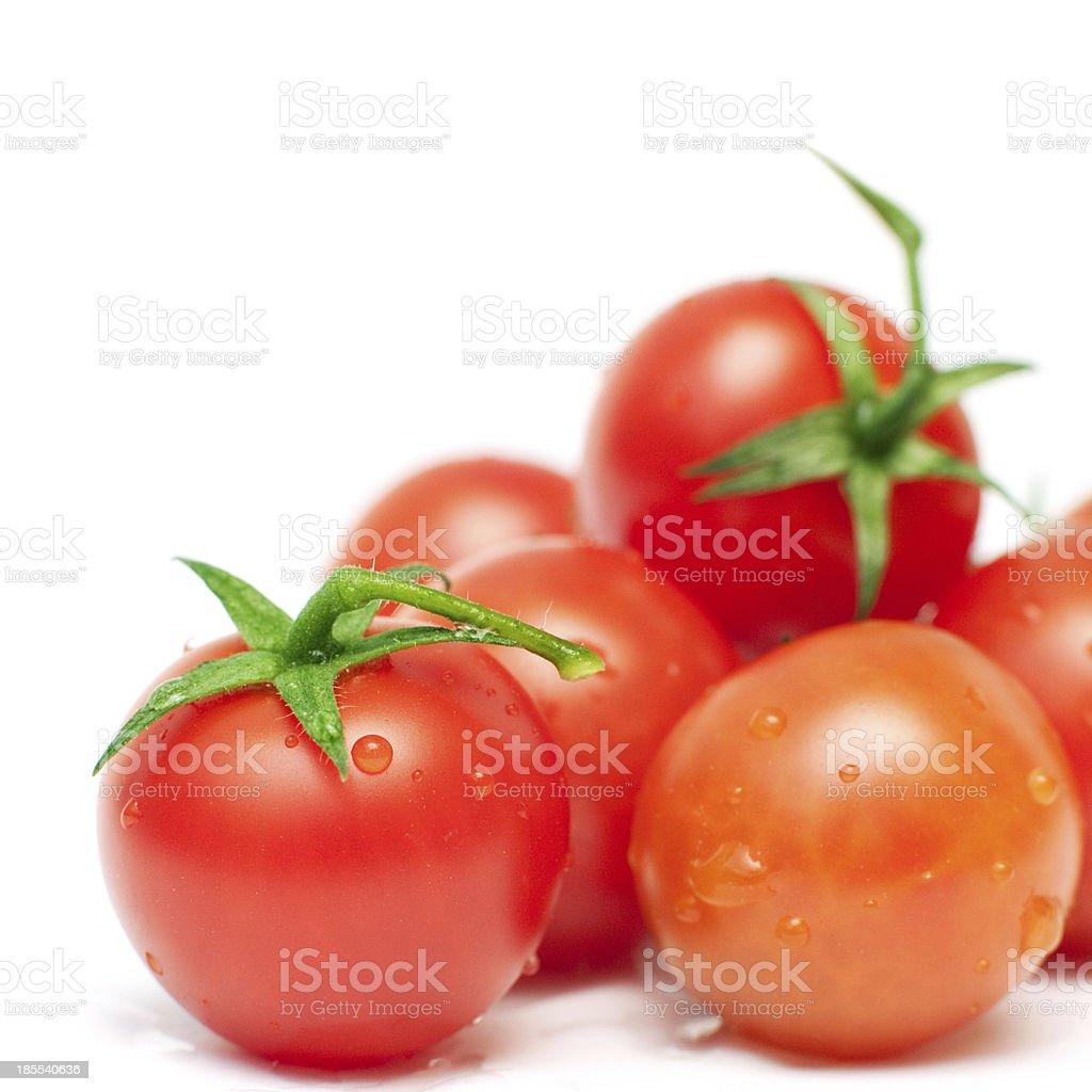 Tomates organiques photo libre de droits