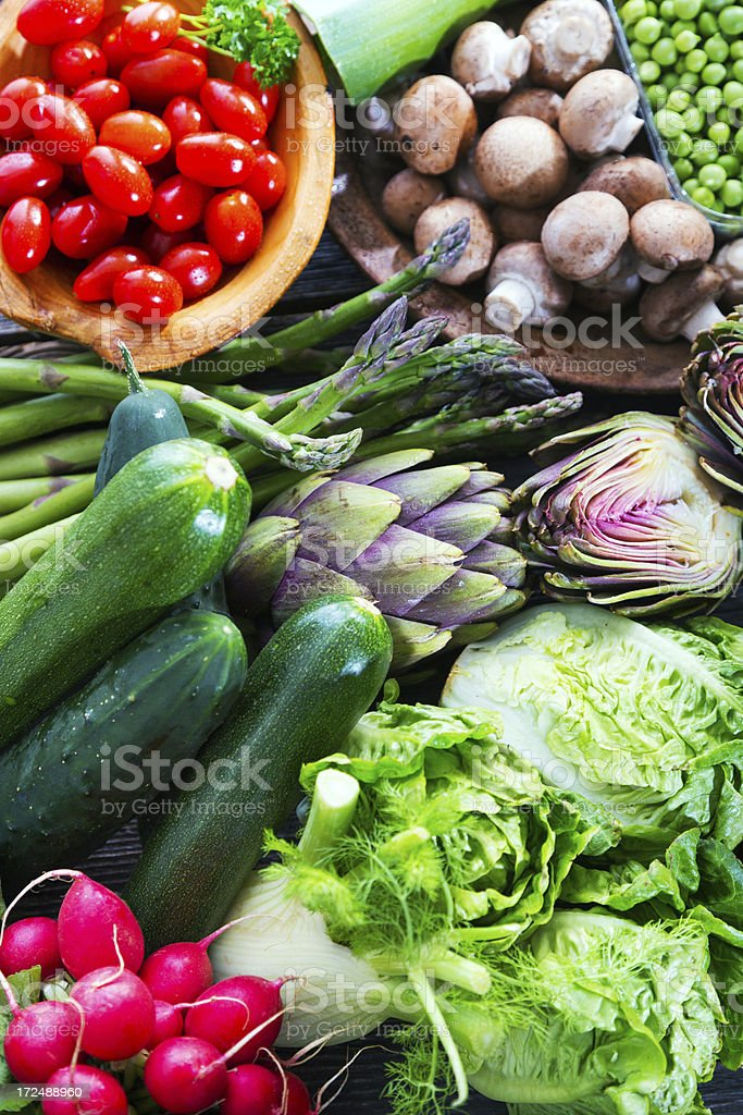 Organic Vegetable royalty-free stock photo