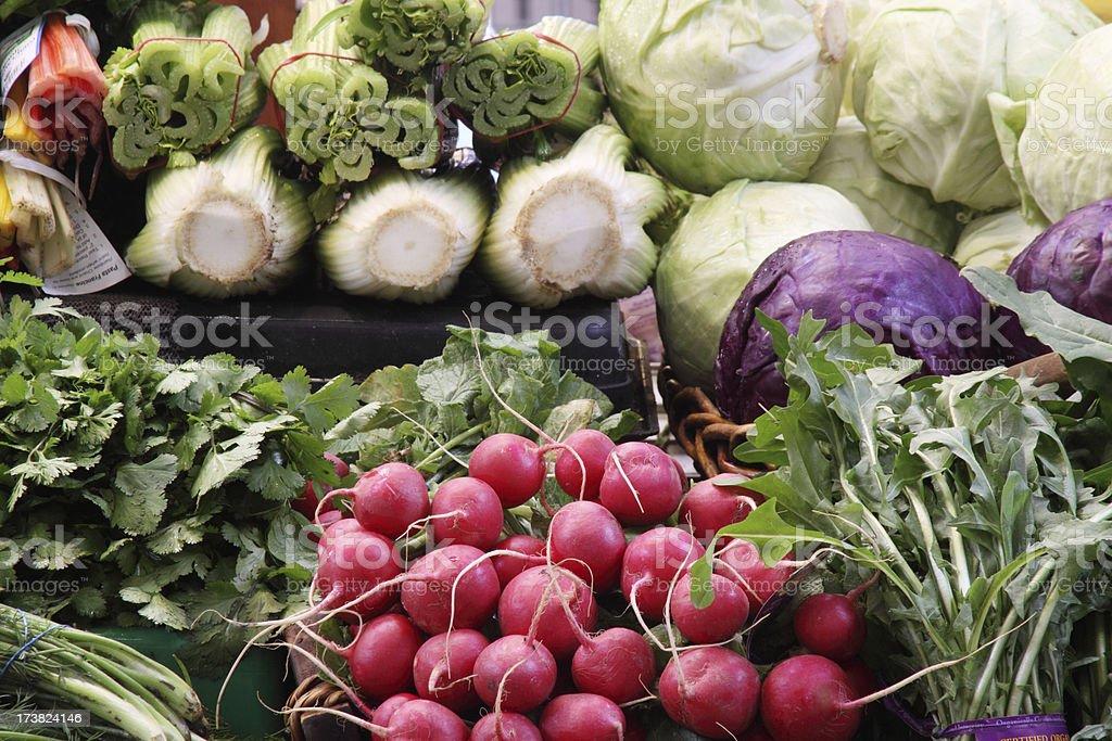 Organic vegetables royalty-free stock photo