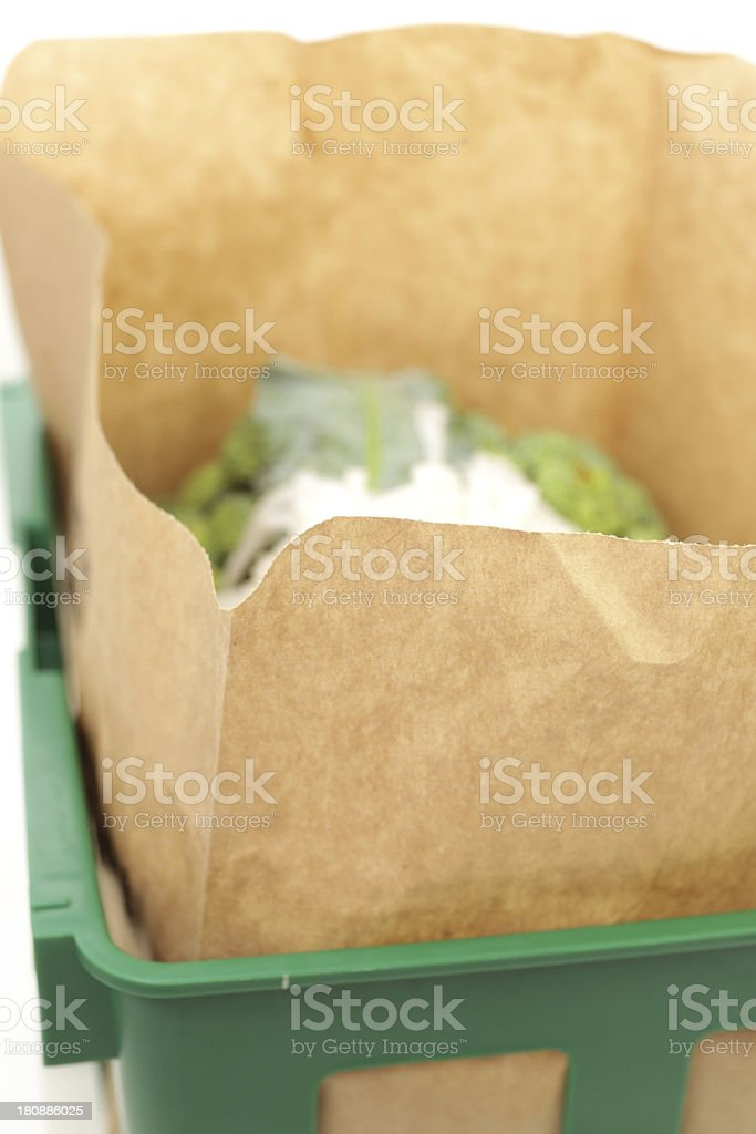Organic waste royalty-free stock photo