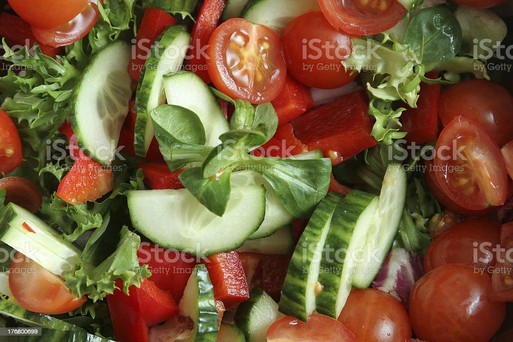 organicsalad royalty-free stock photo