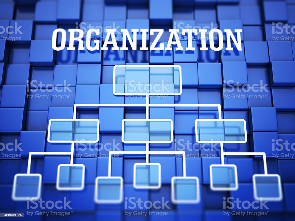 Organization concept stock photo
