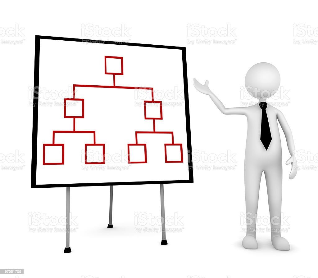 Organization Presentation stock photo