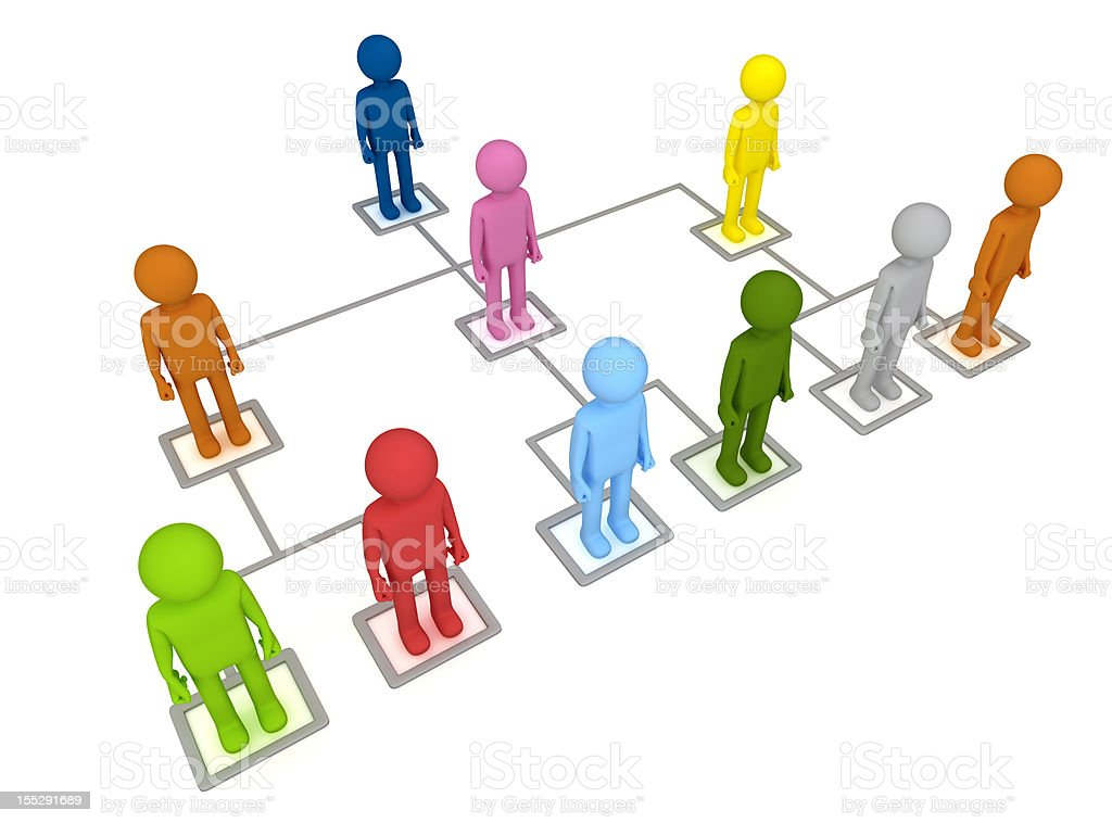 Organization Structure royalty-free stock photo