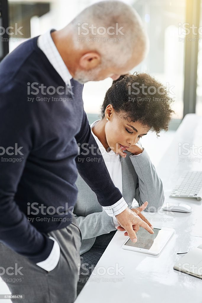 I organize all my appointments with this app stock photo