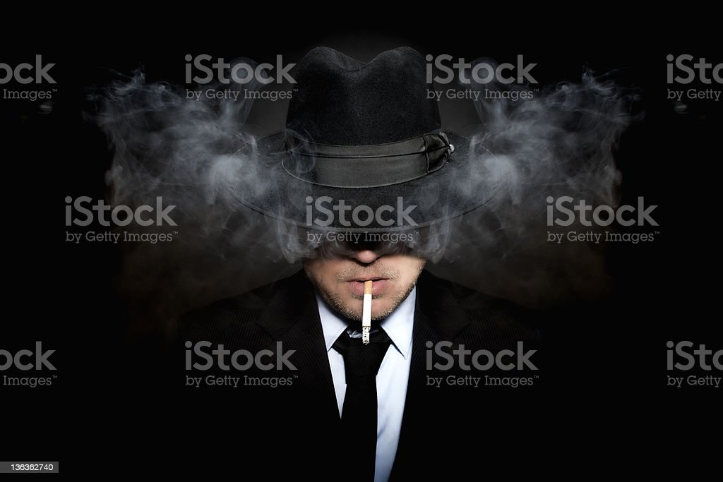 Organized crime royalty-free stock photo