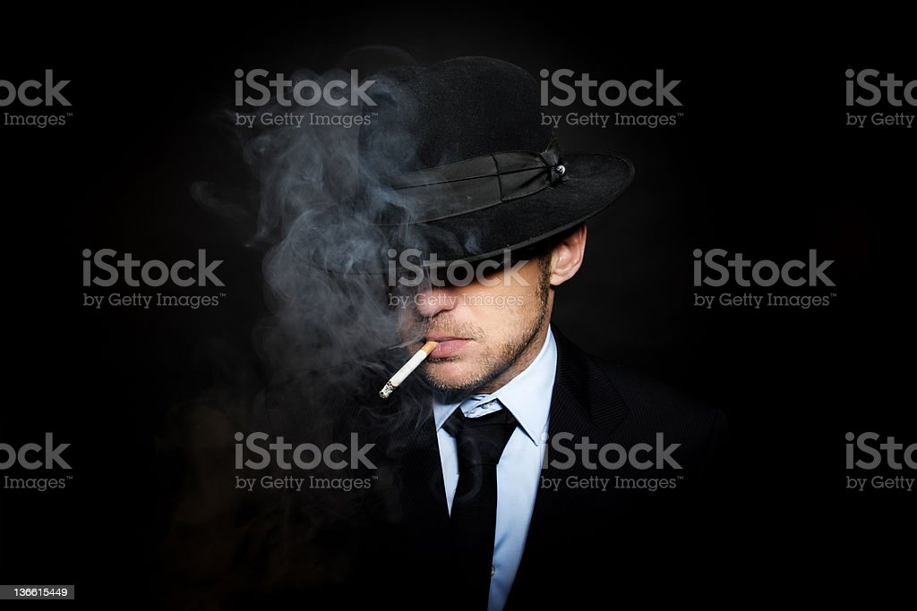 Organized crime royalty-free stock photo