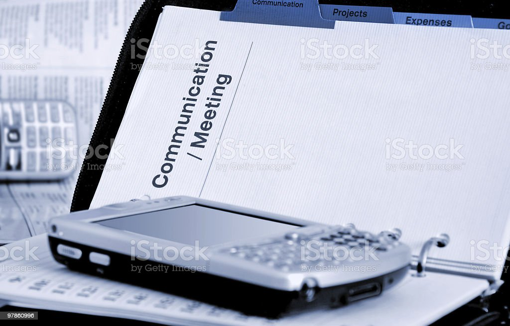 organizer royalty-free stock photo