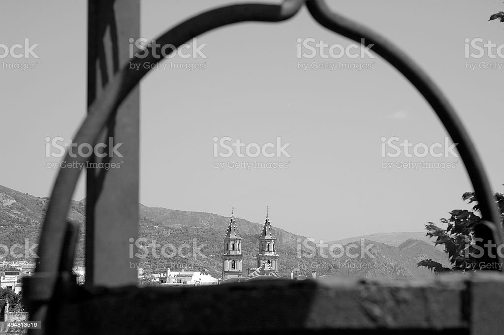 Orgiva stock photo