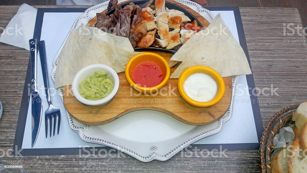 oriantal cuisine stock photo