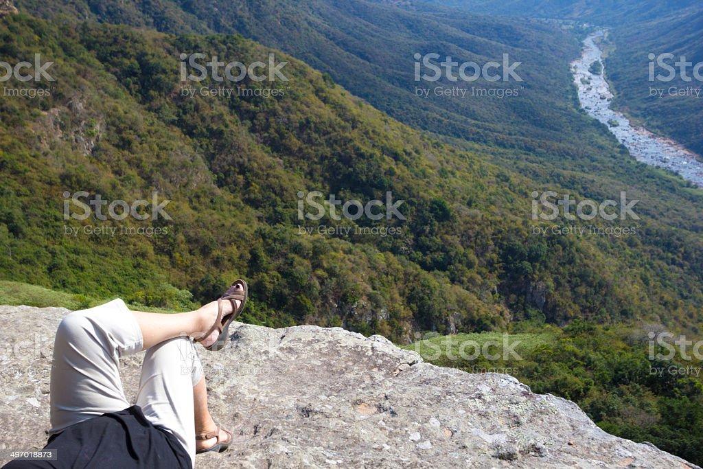 Oribi Gorge in KwaZulu-Natal, South Africa royalty-free stock photo