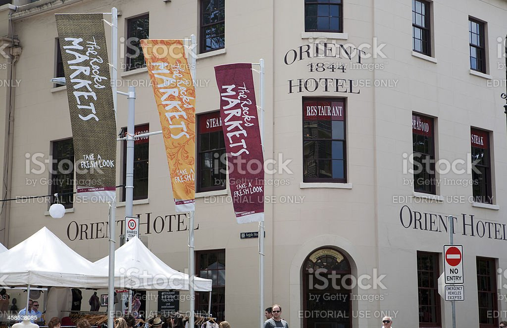 Orient Hotel royalty-free stock photo