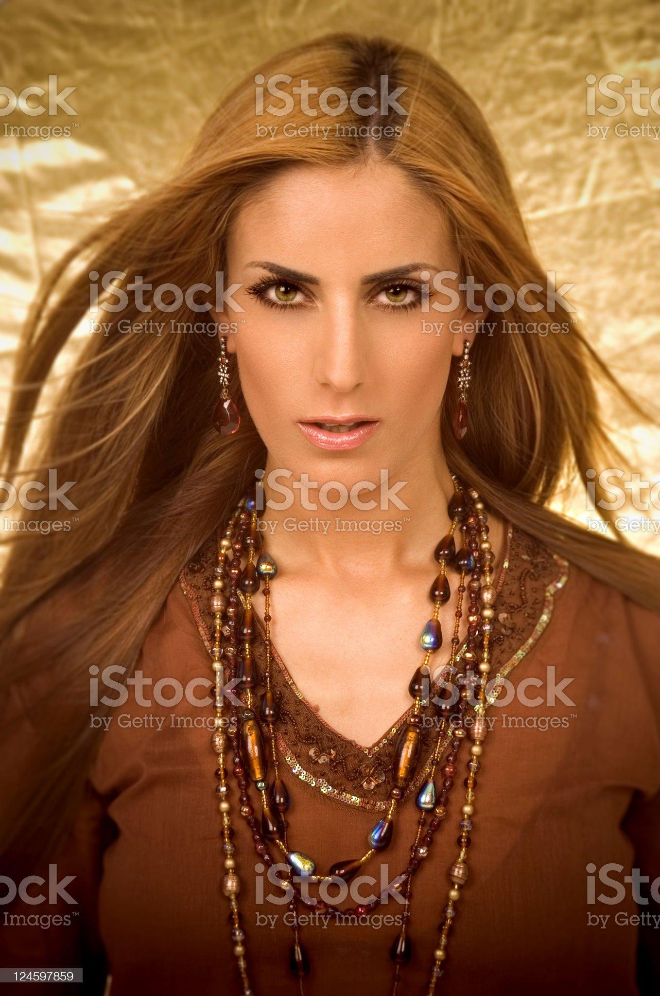 Oriental Beauty royalty-free stock photo