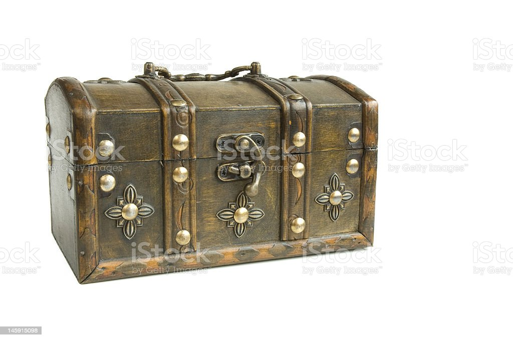 Oriental box royalty-free stock photo