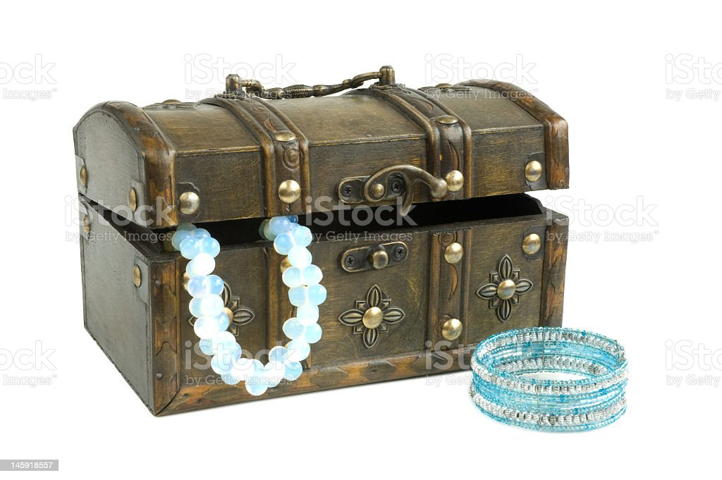 Oriental box royalty-free stock photo
