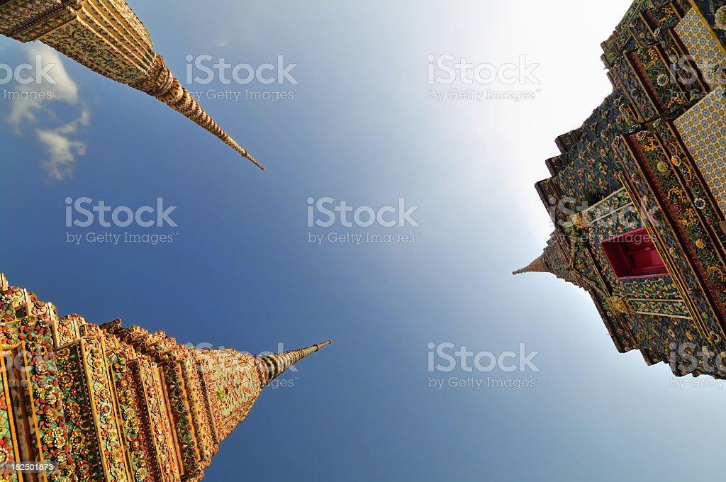 Oriental churches royalty-free stock photo