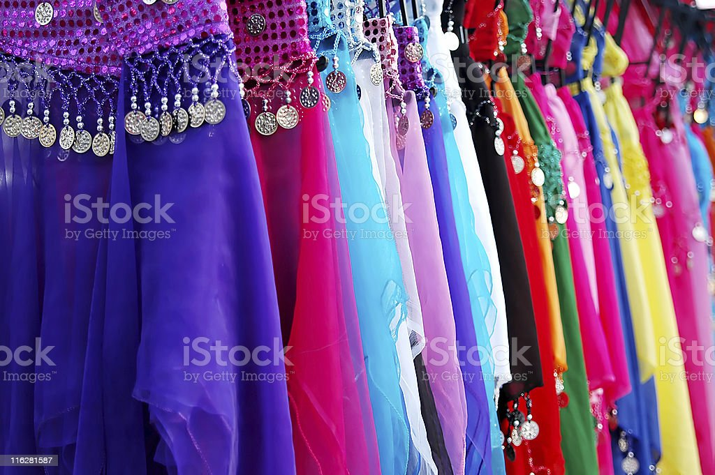 Oriental colors royalty-free stock photo
