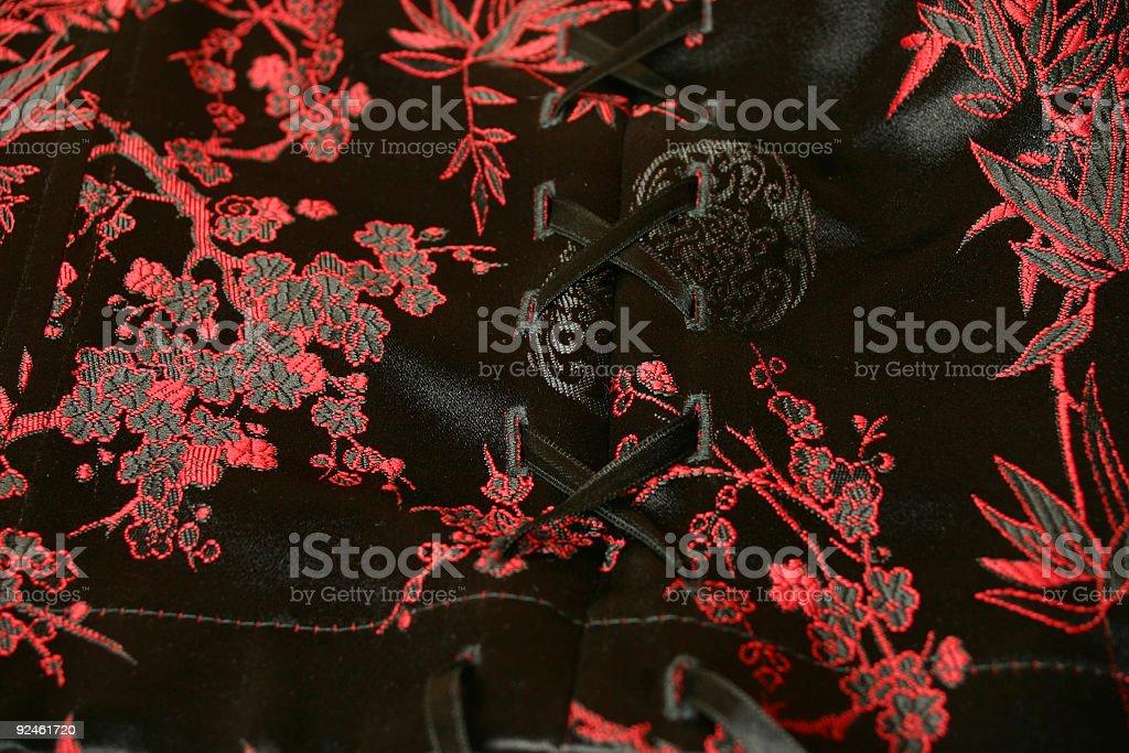 Oriental corsage detail royalty-free stock photo