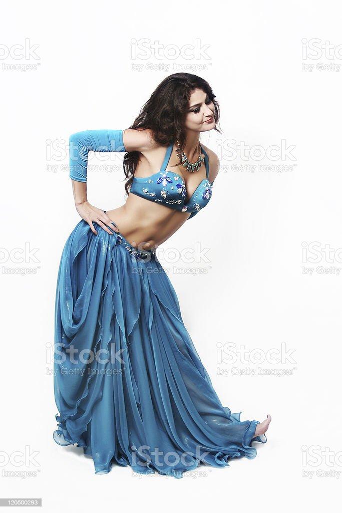 Oriental dancer cabaret woman stock photo