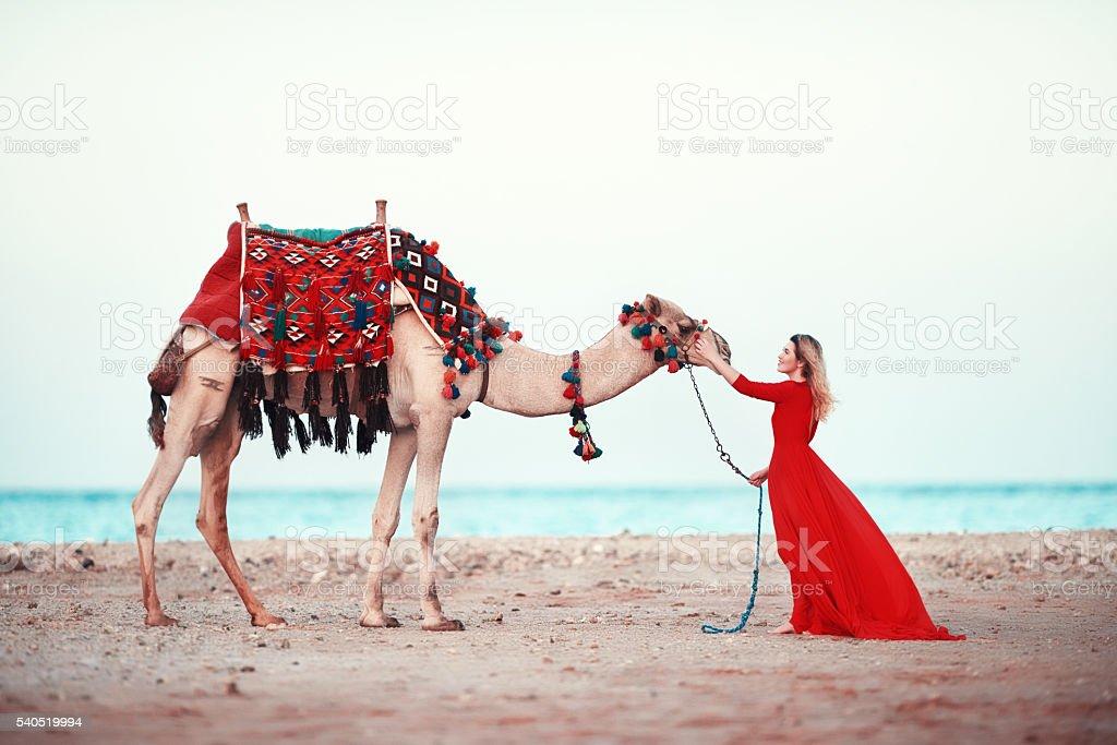 oriental dream stock photo