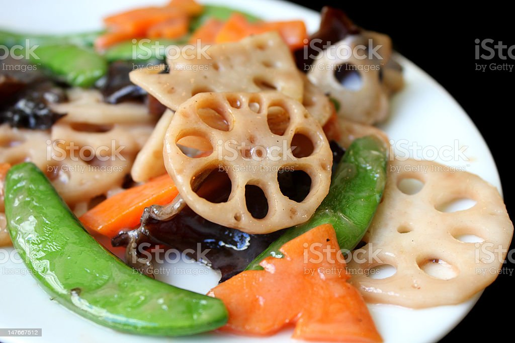 Oriental Food royalty-free stock photo