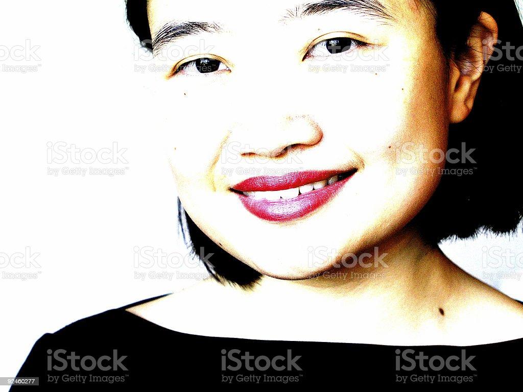 Oriental girl royalty-free stock photo
