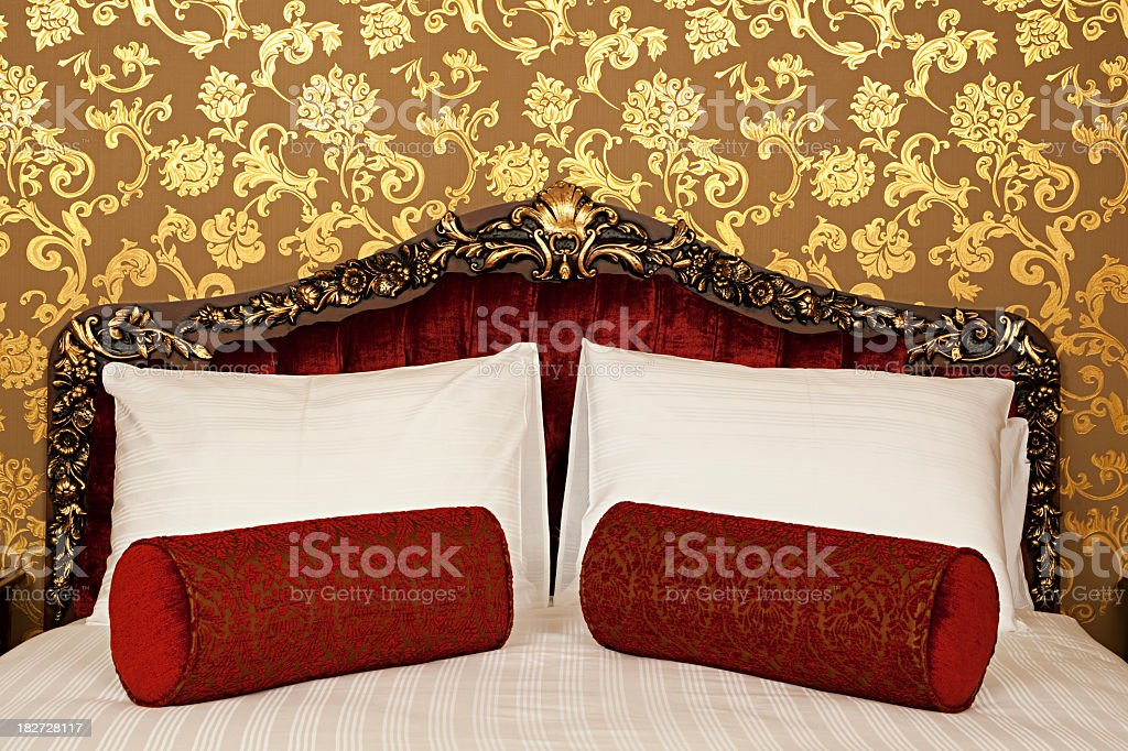 Oriental Hotel Room royalty-free stock photo