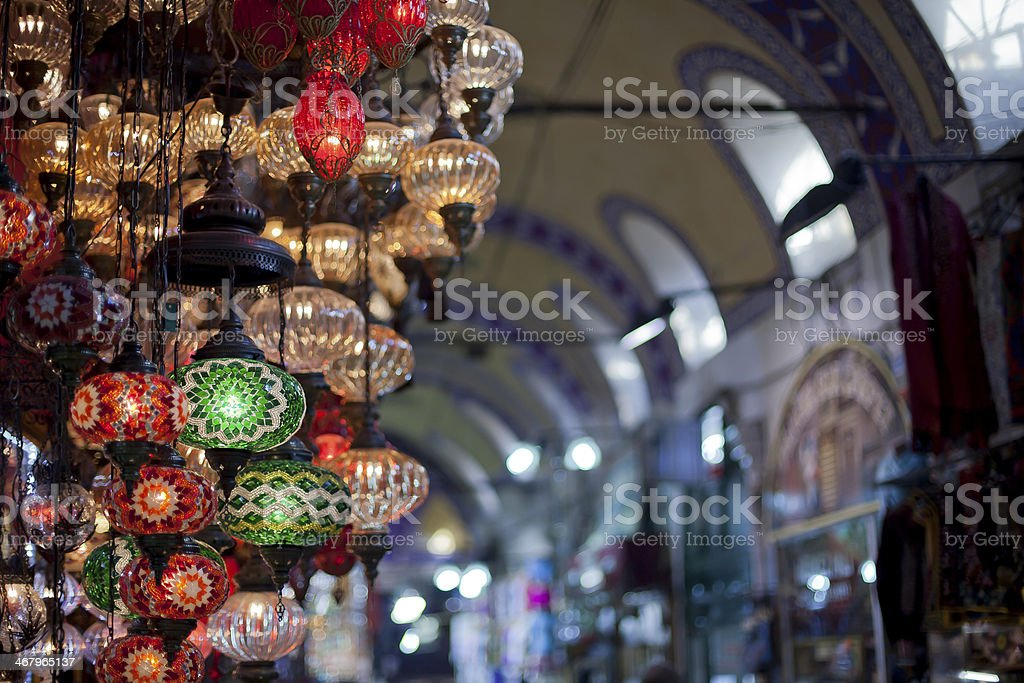 Oriental Lamps stock photo