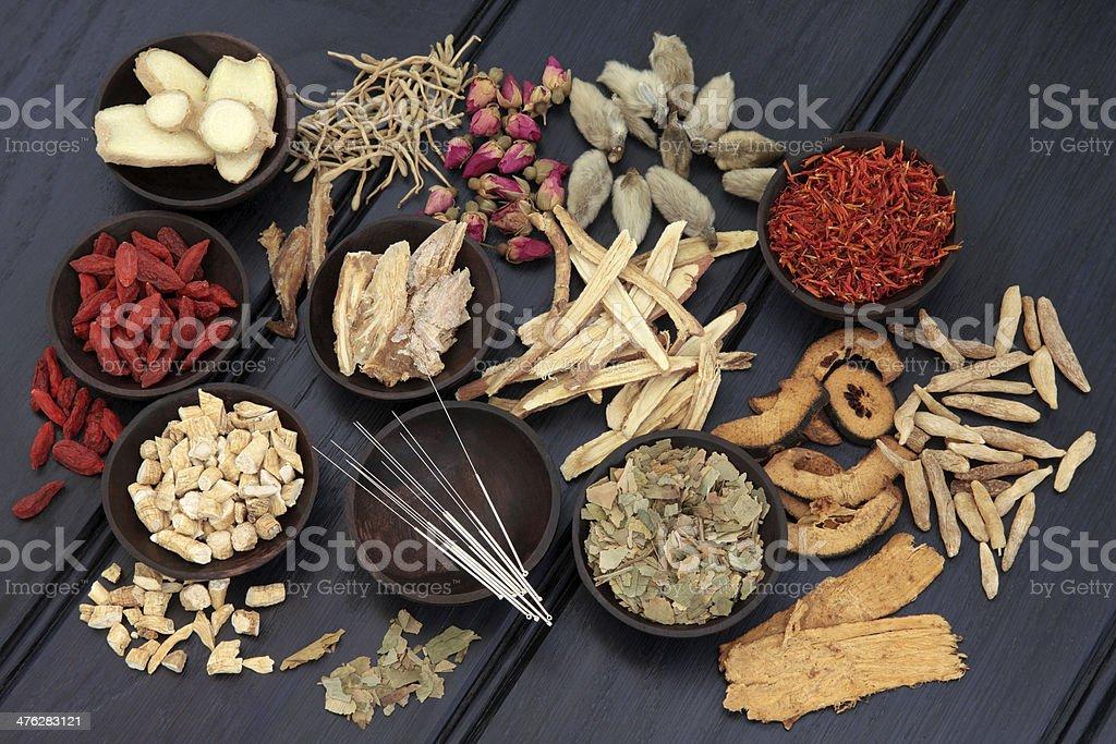 Oriental Medicine stock photo