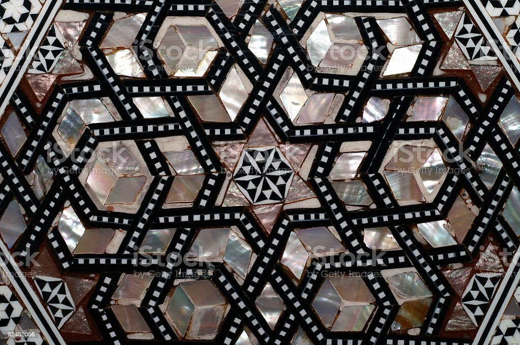 Oriental Mosaic stock photo