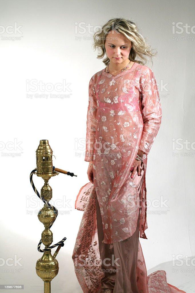 Oriental royalty-free stock photo